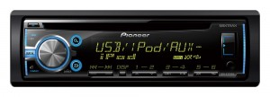 Pioneer DEH-X3700UI - Radioodtwarzacz z tunerem FM RDS, CD, USB, Aux-in, wsparciem iPod / iPhone, funkcja MIXTRAX EZ, dostępem do Android Media