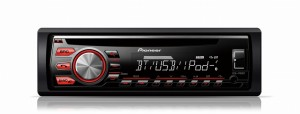 Pioneer DEH-4700BT - Radioodtwarzacz z tunerem FM RDS, CD, USB, Aux-in, wsparciem iPod / iPhone, dostępem do Android Media