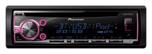 Pioneer DEH-X5700BT - Radioodtwarzacz z tunerem FM RDS, CD, USB, Aux-in, wsparciem iPod / iPhone, dostępem do Android Media
